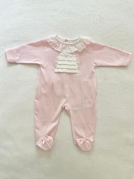 Pelele Prematuro rosa bebé