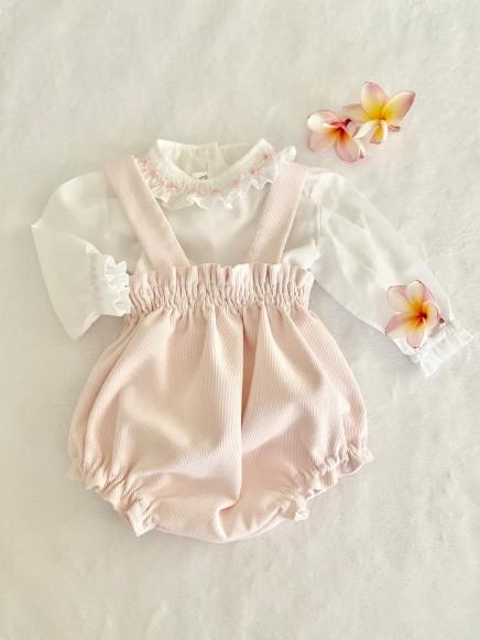 Rana de micro pana rosa bebé