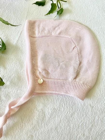 Capota color rosa bebé
