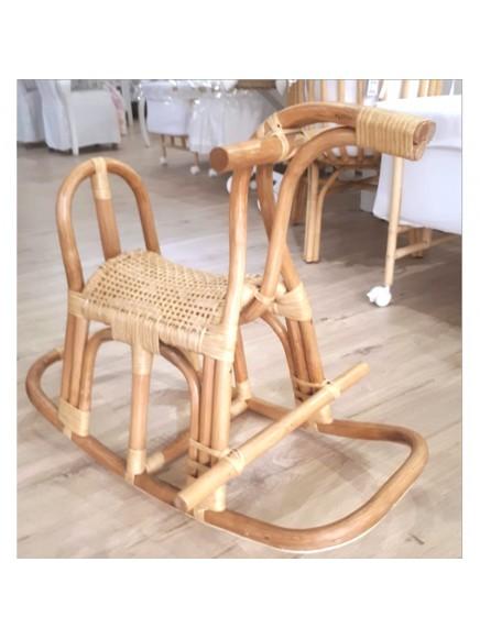 Caballito artesanal de Bambú
